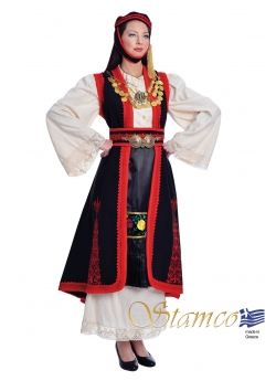 Greek Epirus Embroidered Costume (Special Production)