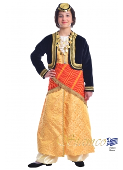 Greek Costume Pontian Girl with Vest