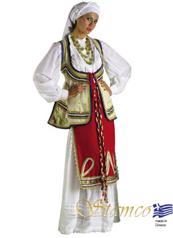 Costume Roumeli Woman