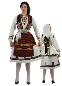 Costume Florina Woman