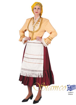 Costume Aegean Islands Kiuno