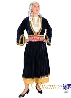 Costume Aegean Islands Woman