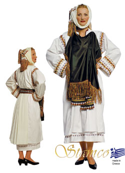 Costume Xios Pyrgi Woman