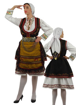 Costume Florina Embroidery