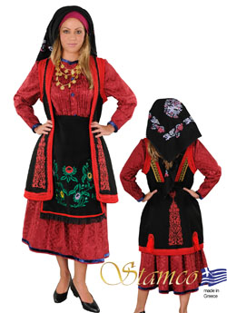 Costume Zagori Embroidery