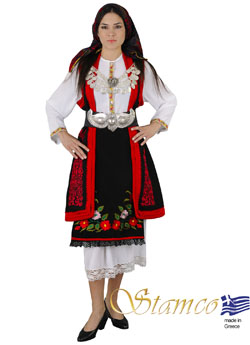 Costume Macedonia Embroidery