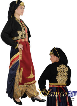 Costume Kapadokia Embroidery