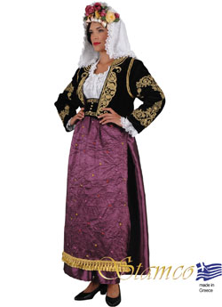 Costume Corfu Kerkira  Woman
