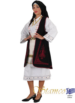 Costume Souliotisa Embroider