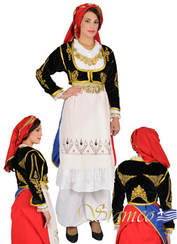 Costume Crete Embroidered