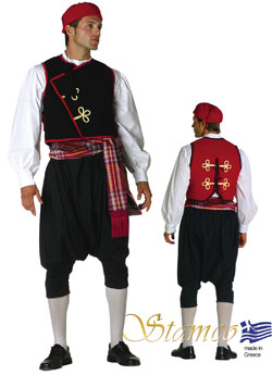 Costume Cyclades Man