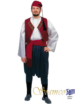 Costume Aegean Islands Man