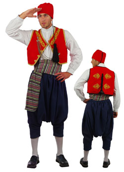 Costume Aegean Islands Embroidered