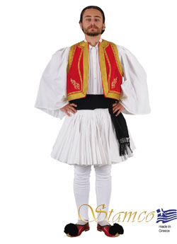 Costume Tsolias Embroidery