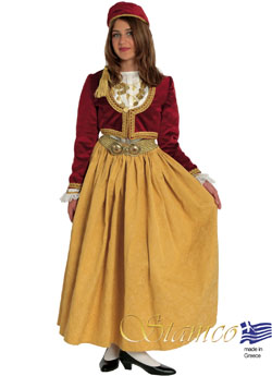 Costume Amalia Brocade Skirt