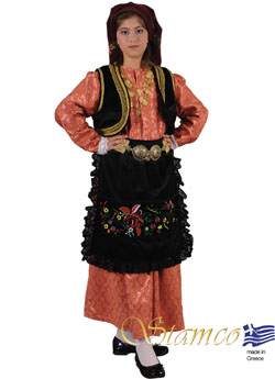 Costume Epirus Brocade Girl