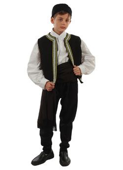 Costume Calkidiki Boy