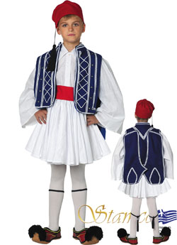 Costume Tsolias Boy Blue