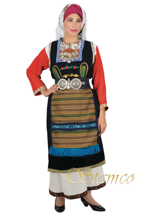 Costume Thrace Woman