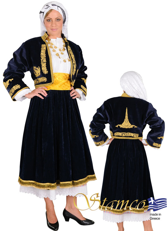 Costume Cyclades Embroidery