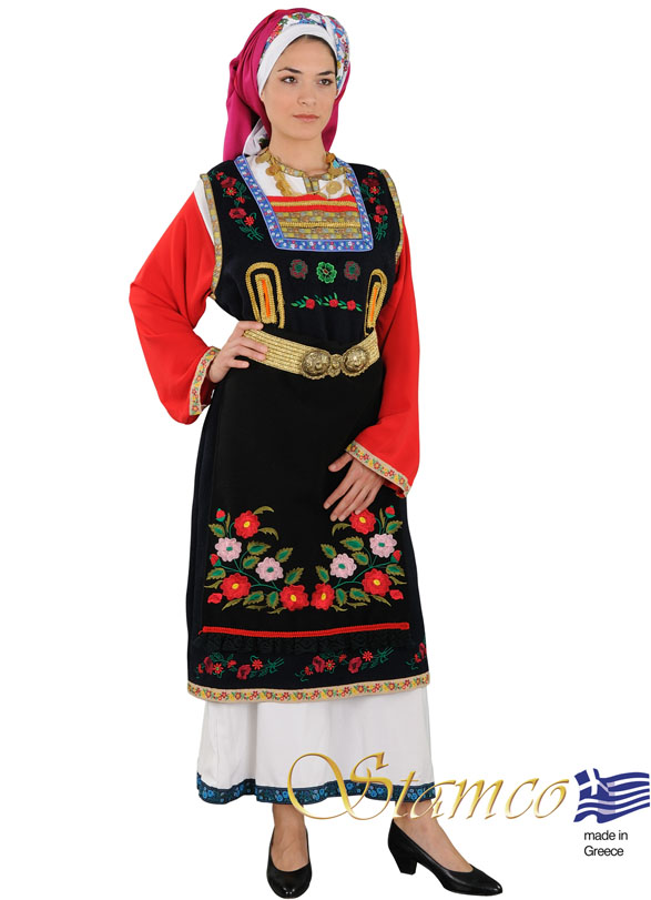 Costume Thrace Woman Embroid
