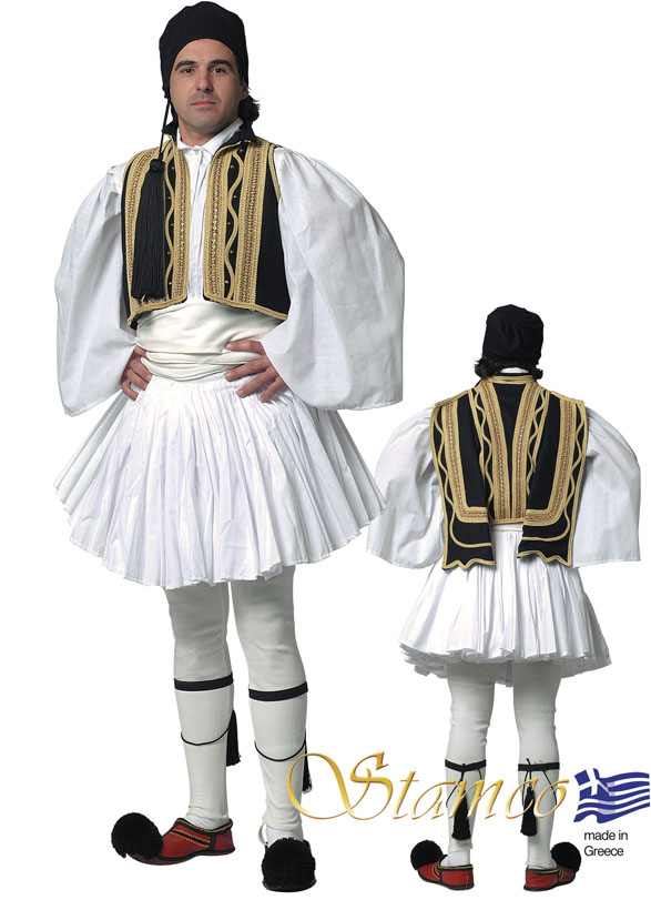 Costume Evzonas Man Black