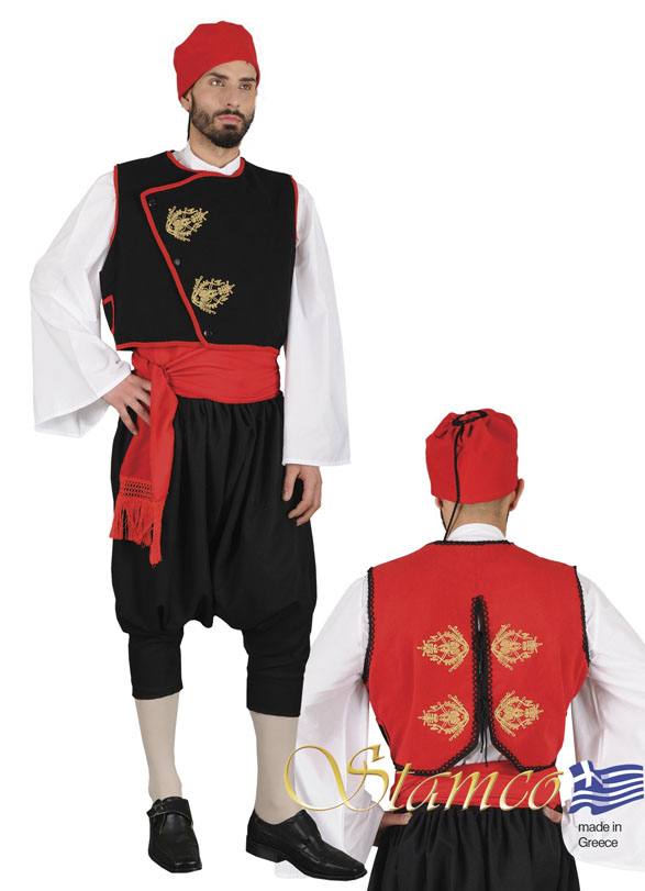 Costume Cyclades With Embroidery