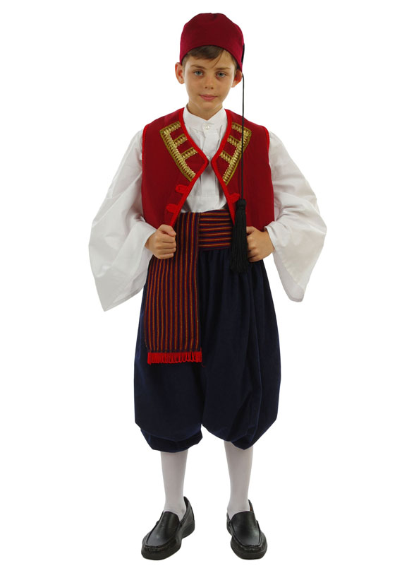 Costume Aegean Islands Boy